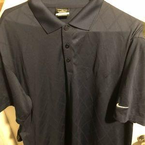 Nike golf blue diamond shirt I. Great condition